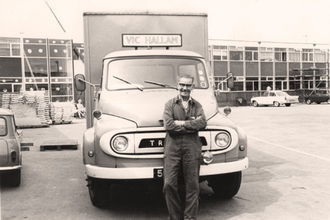 Vic Hallam Limited continued to grow into the 1960s