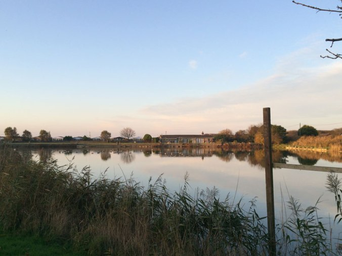Pictures of the beach, lake and fields around Anderby Creek
