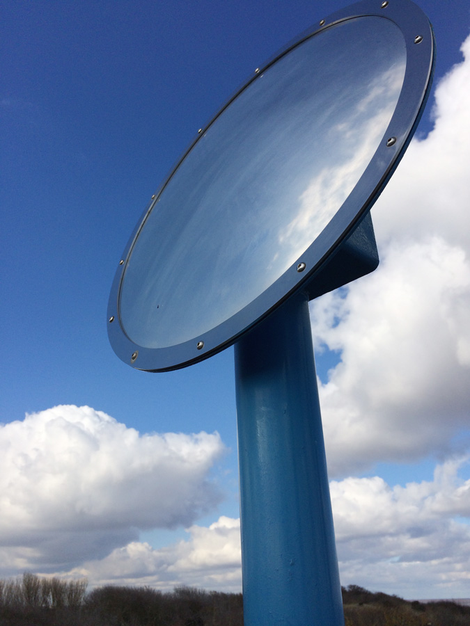 Anderby Creek Cloud Bar mirror