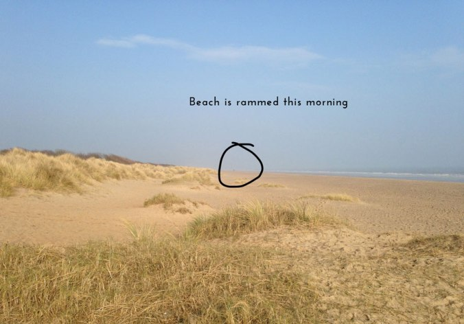 Another busy morning on Anderby Creek beach