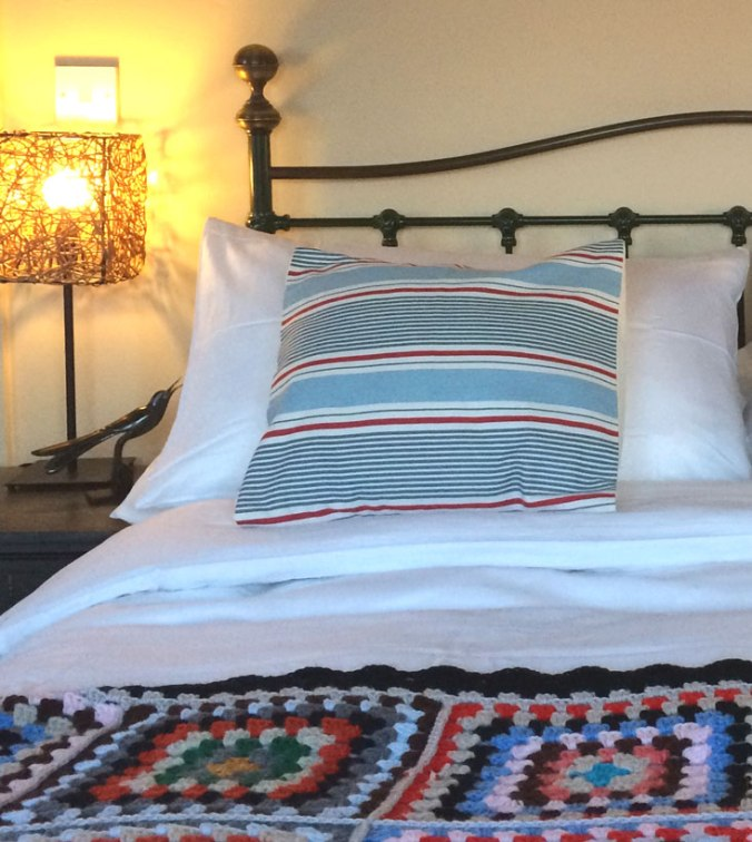 Egyptian cotton bedding, Hypnos mattress and interior design touches